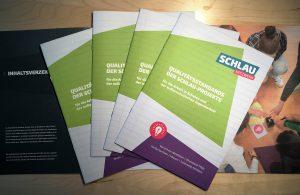 Broschüre SCHLAU Qualitätsstandards